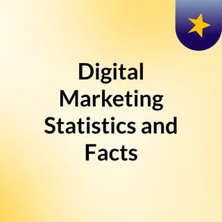 Digital marketing statistics and facts 2021