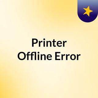 Solve Canon Printer Is Offline Mac Error | Call +1-888-272-8868