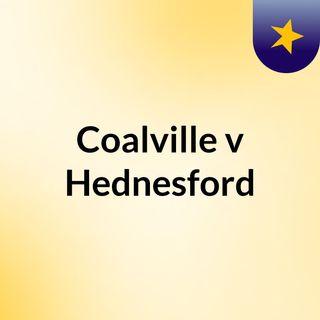 Coalville v Hednesford