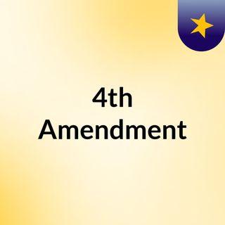 4th Amendment