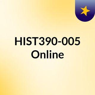 HIST390-005 Online