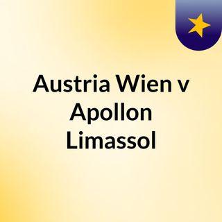 Austria Wien v Apollon Limassol