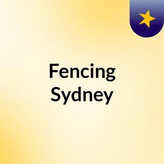 Fencing Sydney
