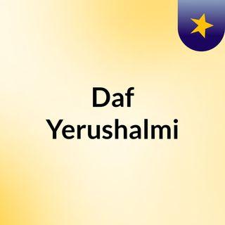 Daf Yerushalmi