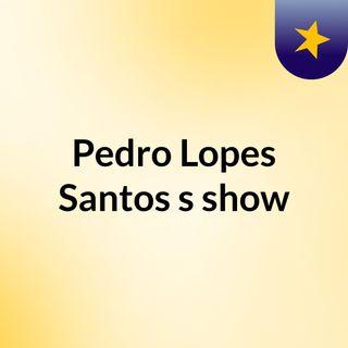 Pedro Lopes Santos's show