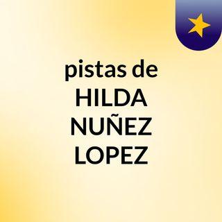 pistas de HILDA NUÑEZ LOPEZ