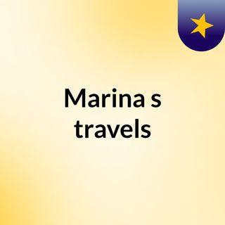 Marina's travels