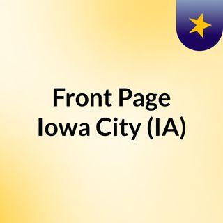 Front Page Iowa City (IA)