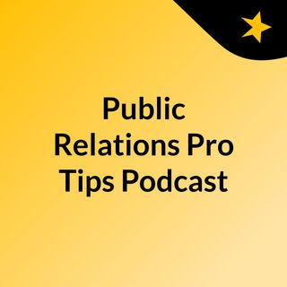 PR Podcast #4 Learn how to tell a story