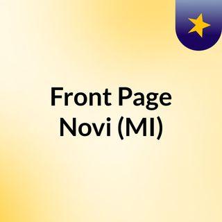 Front Page Novi (MI)