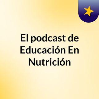 educación en nutrición