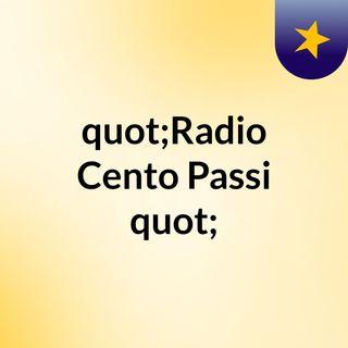 """Radio Cento Passi"""