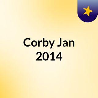 Corby Jan 2014