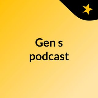 My First Podcast Episode