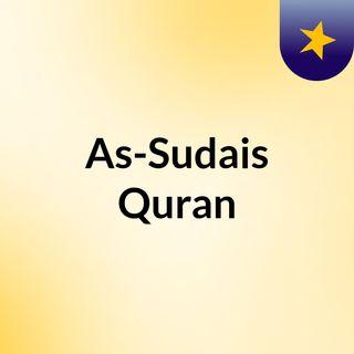 As Sudais, Surat Al-Fatihah