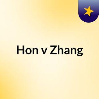 Hon v Zhang