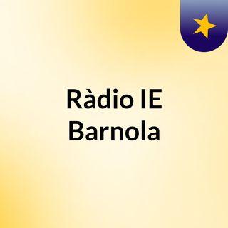 Programa 1 ràdio IE Barnola