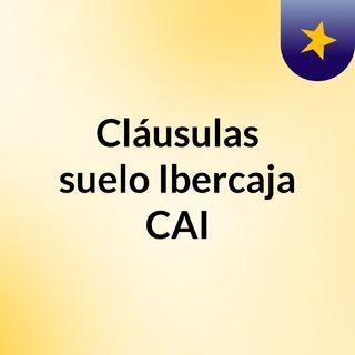 Cláusulas de interés mínimo Ibercaja CAI y acuerdos de novación.