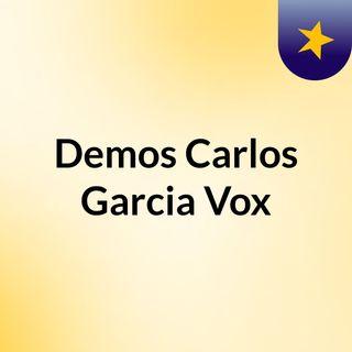 Demos Carlos Garcia Vox