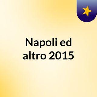 Napoli ed altro 2015
