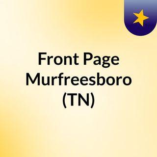 Front Page Murfreesboro (TN)