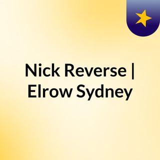Nick Reverse - elrow