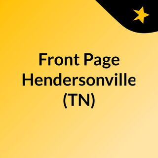 Front Page Hendersonville (TN)