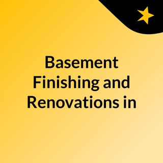 Basement Finishing and Renovations in 2 weeks