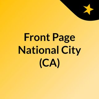 Front Page National City (CA)