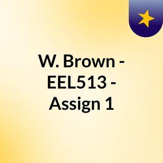 EEL513_Assignment1-Resubmit