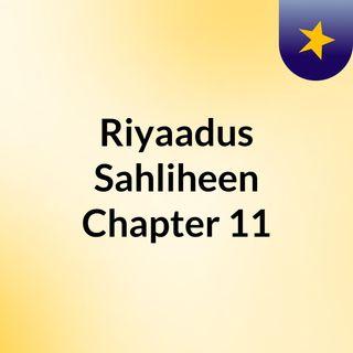 Riyaadus Sahliheen: Chapter 11