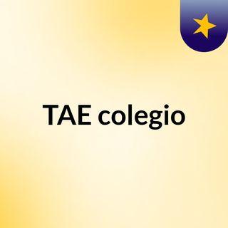 TAE colegio