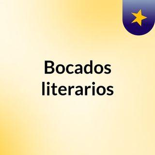 Bocados literarios