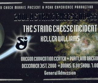 String Cheese Incident Live at Oregon Convention Center on 2000-12-31