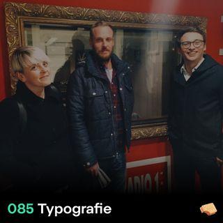 SNACK 085 Typografie
