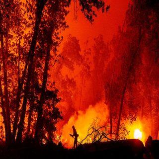 Continúan los fuertes incendios en el oeste de EUA