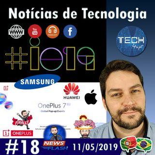 Google IO 2019, IDC 1T, OnePlus 7 Popup - Notícias #18