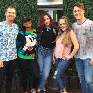 The Cast of Famous in Love