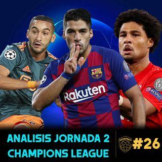 11contra11 #26 Análisis Jornada 2 Champions League!