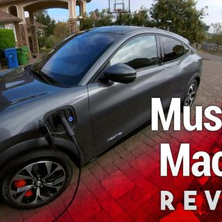 Mach-E One Month Review - Ford's All-Electric Mustang Crossover SUV