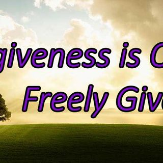 Believing in God's Forgiveness ~ The Rev. Jan Hosea  March 31, 2019