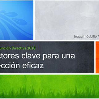 J. Cubillo. PodCast Función Directiva