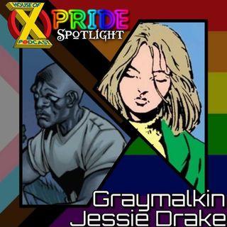 Episode 77 - Pride Spotlight: Jessie Drake & Graymalkin