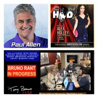 22: It's #MustWatchRadio w/ your host Tony Bruno! - Guest: Paul Allen & Alex Holley
