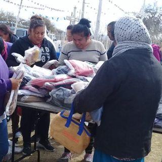 Paquetes abrigadores para indigentes