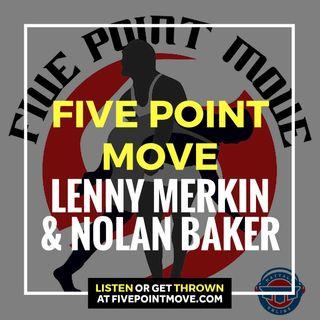 5PM26: Princeton's Lenny Merkin and new USOTPC Greco-Roman athlete Nolan Baker