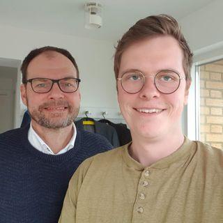 Trinitatis søndag. Mogens Thams i samtale med Jørgen Paakjær Moeslund