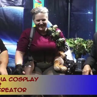 Mash-ups and Gender Bends with Cosplayer Anna Stasia interview on the Hangin With Web Show