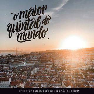 Praia de nudismo, maçonaria e aplaudir o pôr-do-sol | Viajando por Lisboa | ep. 24