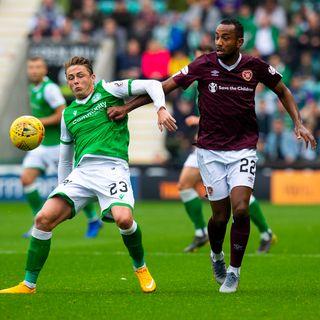 Hearts win late in Edinburgh derby